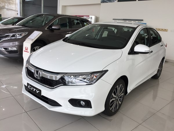 Giá xe Honda City mới nhất tháng 9/2018