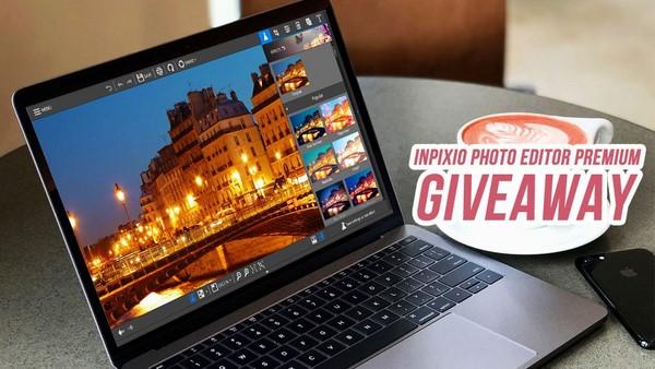 Miễn phí bản quyền phần mềm InPixio Photo Editor Premium