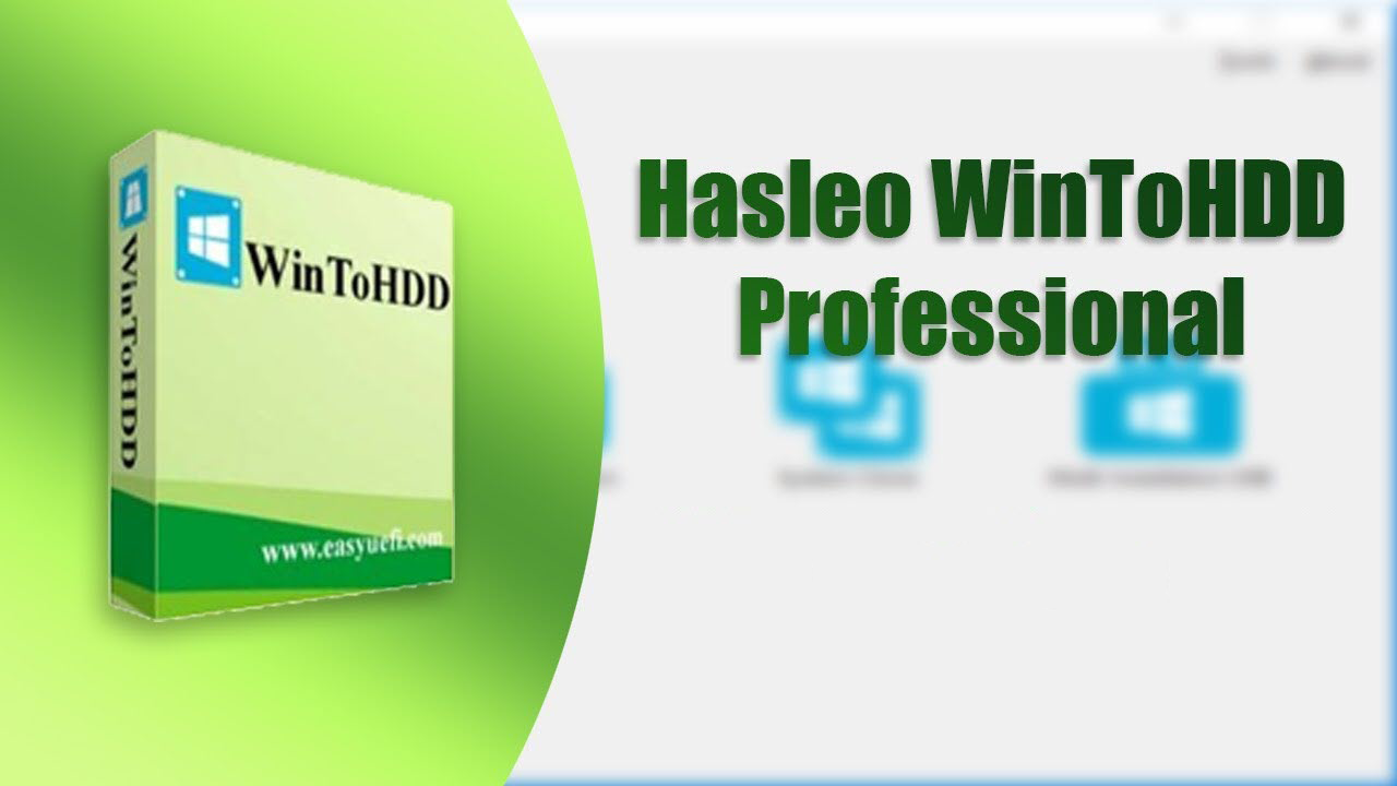 Phần mềm WinToHDD