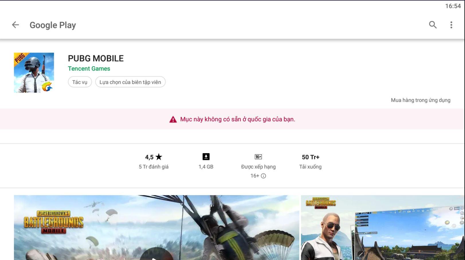 PUBG MOBILE đang bị giới hạn local Việt Nam