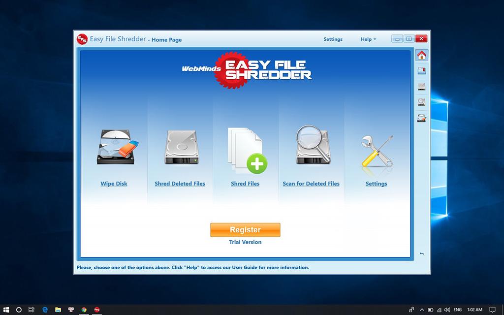Miễn phí phần mềm Easy File Shredder - Xóa dữ liệu không cần thiết trị giá 29.95 USD