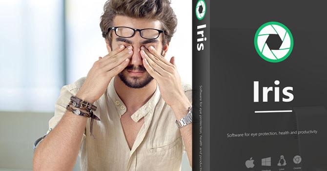 Iris Pro - Bảo vệ mắt, nhắc nhở thời gian nghỉ ngơi trên PC