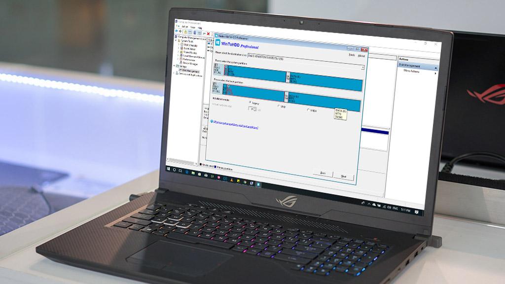 Tải WinToHDD Professional - (29.95 USD) - Cài Windows nhanh không cần USB hay DVD