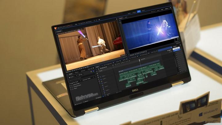 Miễn phí phần mềm chỉnh sửa video chuyên nghiệp HitFilm Express 2018