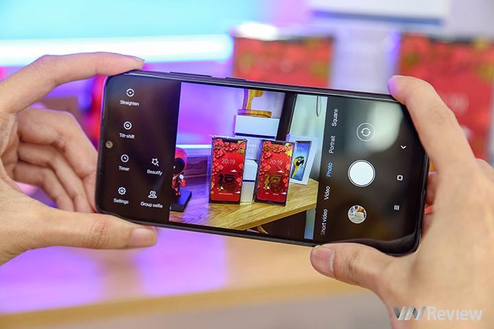 Giao diện camera quen thuộc của Xiaomi