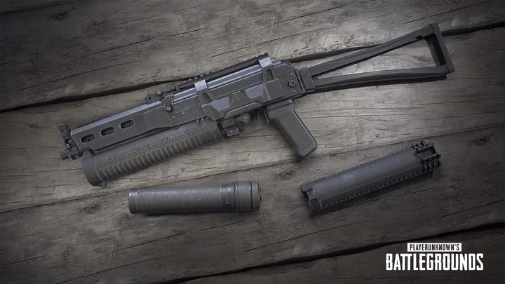 Thêm vũ khí SMG mới – Bizon