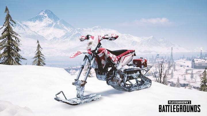Snowbike là phương tiện di chuyển mới chỉ có thể tìm thấy trong Vikendi