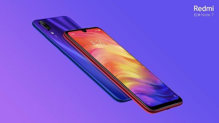 Xiaomi ra mat mau dien thoai Redmi Note 7 voi camera 48 megapixel