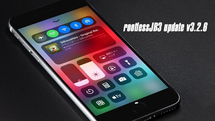 RootlessJB3 v3.2.6 - Tích hợp ilza hỗ trợ cài đặt tweak trực tiếp trên iPhone / iPad