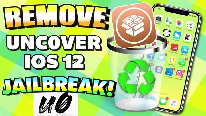Hướng dẫn khôi phục hệ thống tệp tin gốc và gỡ bỏ trạng thái jailbreak iOS 12 bằng unc0ver