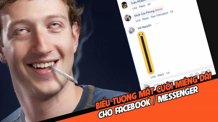 bộ icon (Emoji) miệng dài đang HOT trên Facebook