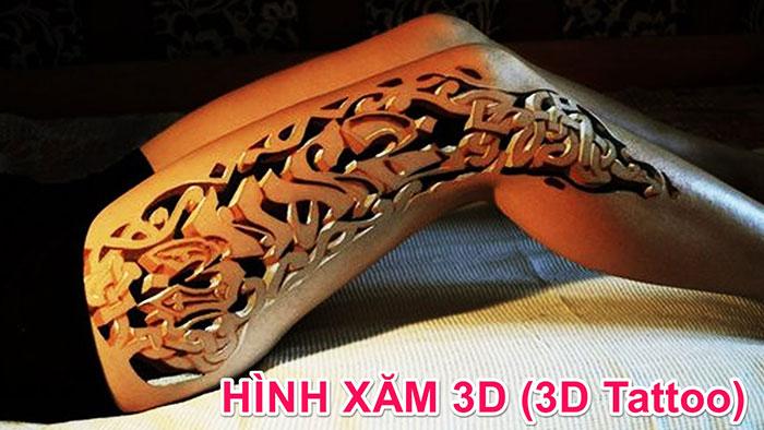 Hình xăm 3D là gì ? 1001 hình xăm 3D đẹp dành cho nam và nữ