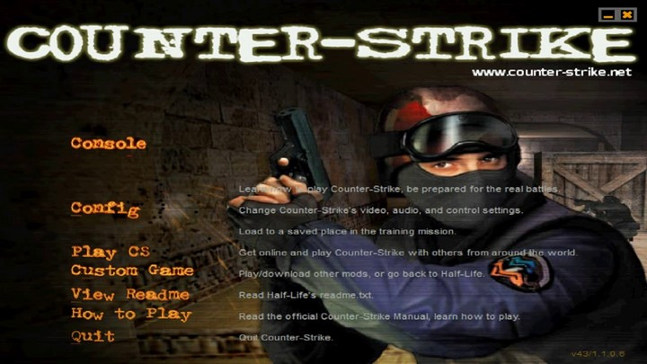 Link tải Half life 1.1 Win 10 + Fix các lỗi cơ bản khi chơi Counter Strike
