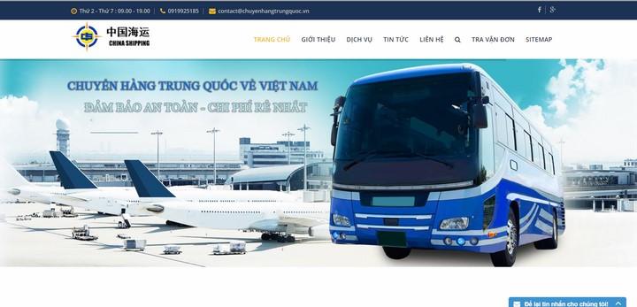 công ty vận chuyển Việt Trung