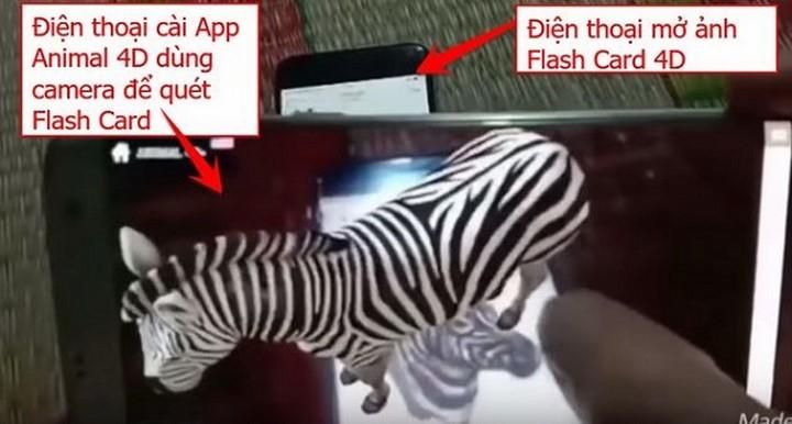 Cách dùng Animal 4D+ để phát ra những con vật giống như thật