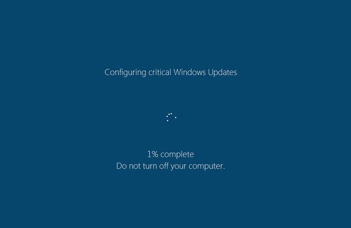 Update lại hệ điều hành