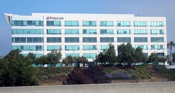 Trụ sở công ty Polycom tại San Jose, California , Hoa Kỳ