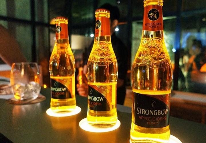 Strongbow honey