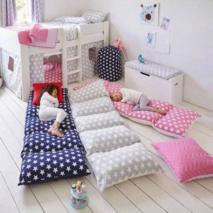 Làm giường di động cho trẻ