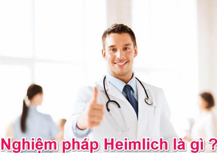 Heimlich là gì ? Hướng dẫn cách sơ cứu học di vật với nghiệm pháp Heimlich