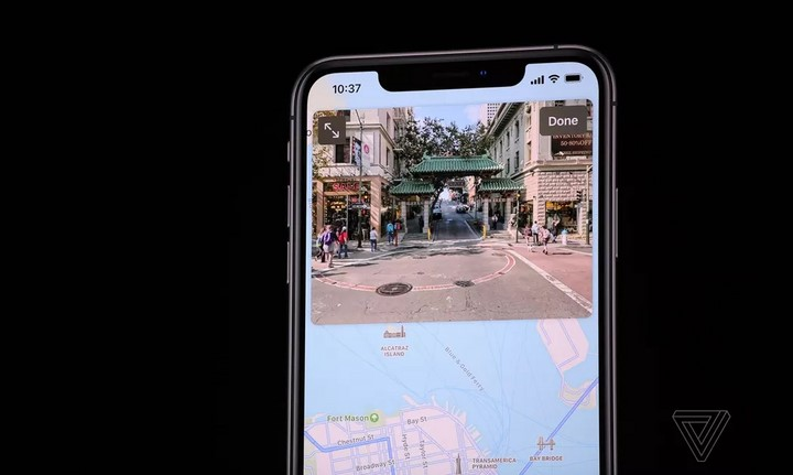 Apple Map trên iOS 13