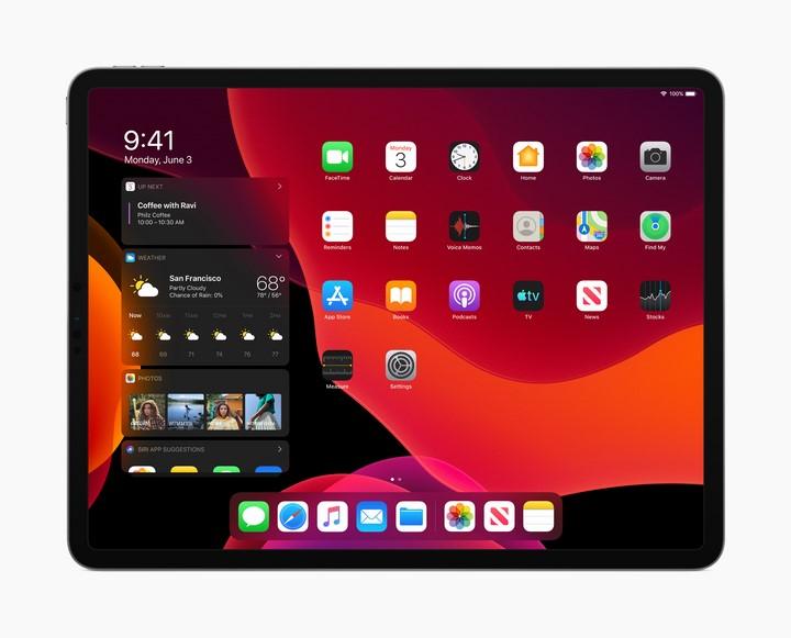 Giao diện của iPadOS