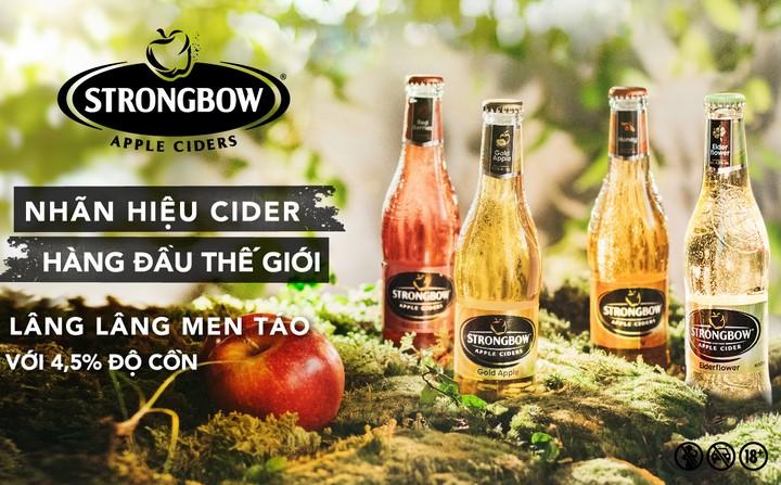 Strongbow là gì? Strongbow có mấy loại ? Loại nào uống ngon nhất