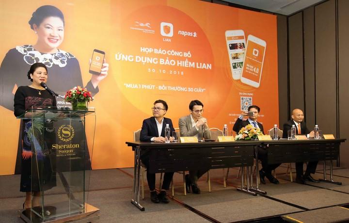 Bà Đỗ Thị Kim Liên tái xuất với công nghệ bảo hiểm tự động LIAN đầu tiên tại Việt Nam