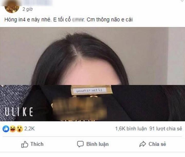 Clip s.e.x của nữ lễ tân là chủ đề nóng trên vài fanpage và nhóm Facebook.