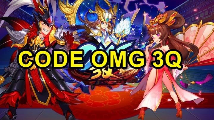 Danh sách 20 mã Gift Code Omg 3Q