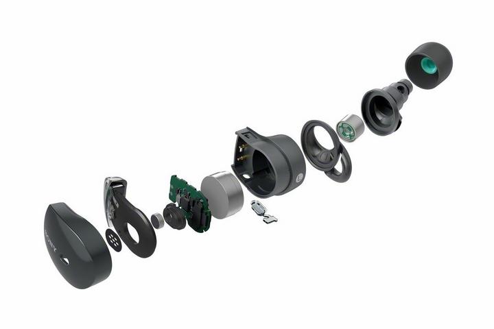 Tai nghe WF-1000XM3 tích hợp công nghệ cảm biến tiến ôn kép
