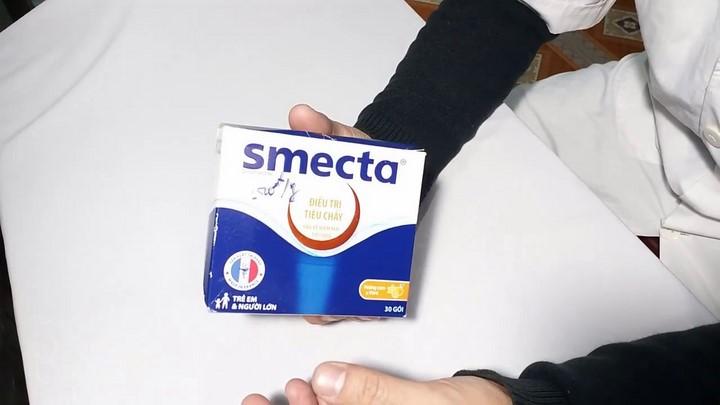 Tác dụng của thuốc smecta