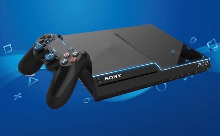 Hình ảnh 'tưởng tượng' của PlayStation 5.