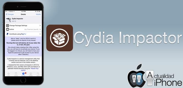 công cụ Cydia Impactor
