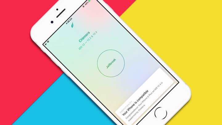 Jailbreak iOS 12.4 với Chimera cho tất cả các thiết bị sử dụng chip A7 - A11