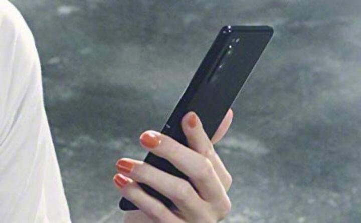 một chiếc điện thoại của Sony rất giống Xperia 1