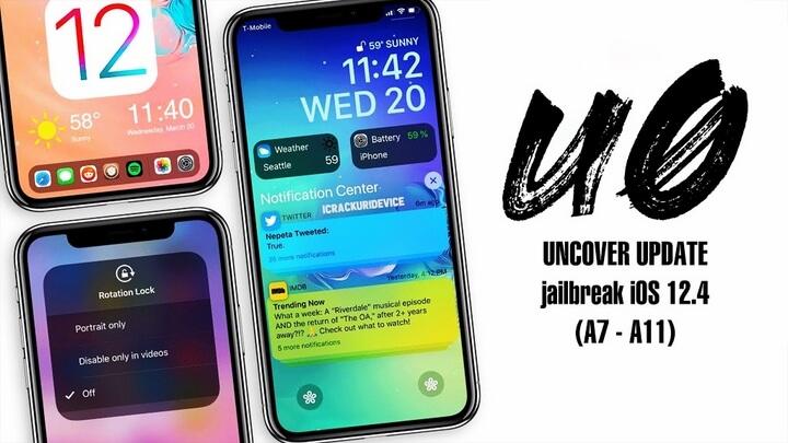 Pwn20wnd cập nhật unc0ver v3.5, hỗ trợ Jailbreak iOS 12.4 cho các thiết bị sử dụng chip A7 – A11