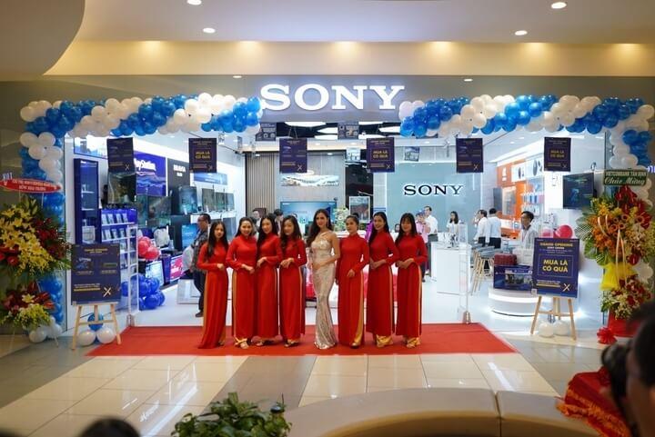 khai trương Sony center Aeon Tân Phú
