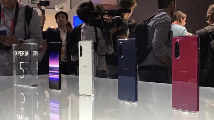 Xperia 5 giới thiệu tại triển lãm IFA 2019
