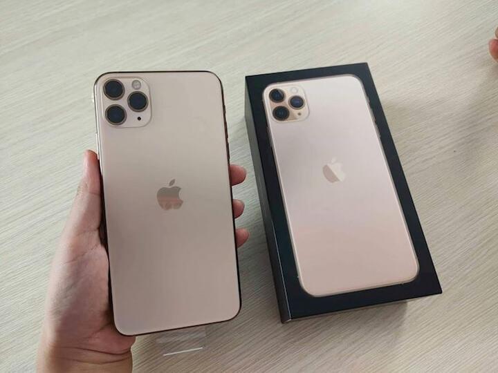 Nguyên hộp chiếc iPhone 11 Pro Max trước ngày mở bán - Ảnh:Minh Tuấn