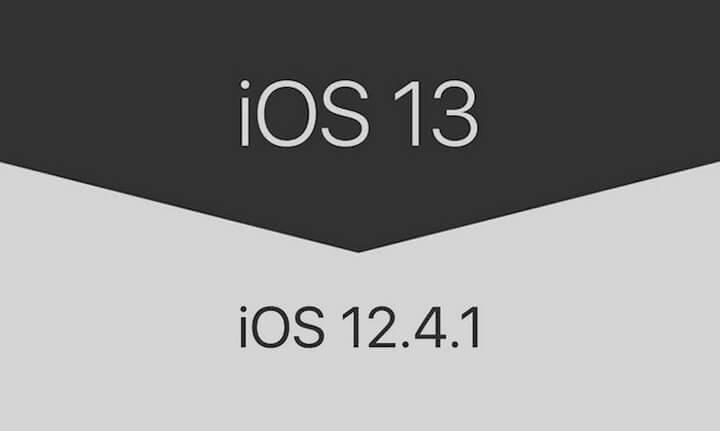 2 cách hạ cấp iOS 13