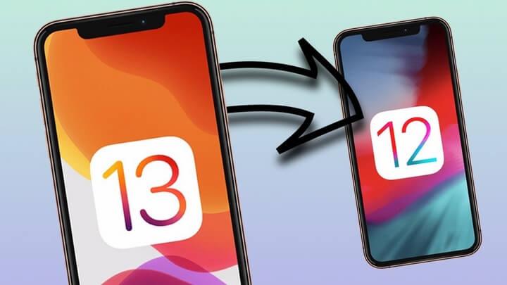 Cách hạ cấp iOS 13 về phiên bản cũ iOS 12.4.1