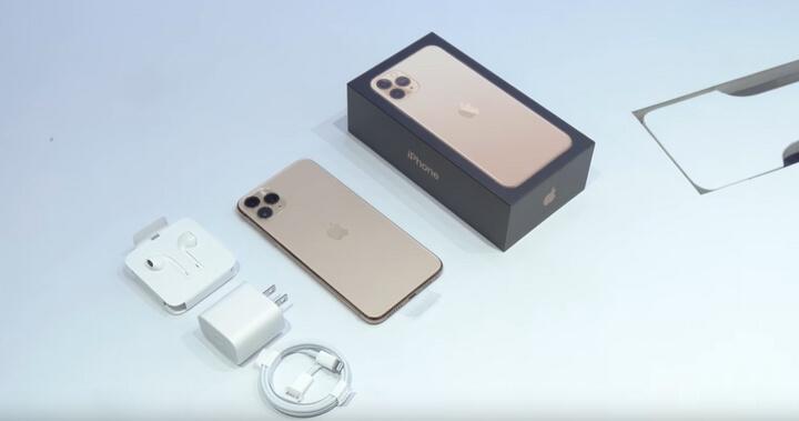 Phụ kiện đi kèm bên trong iPhone 11 Pro Max
