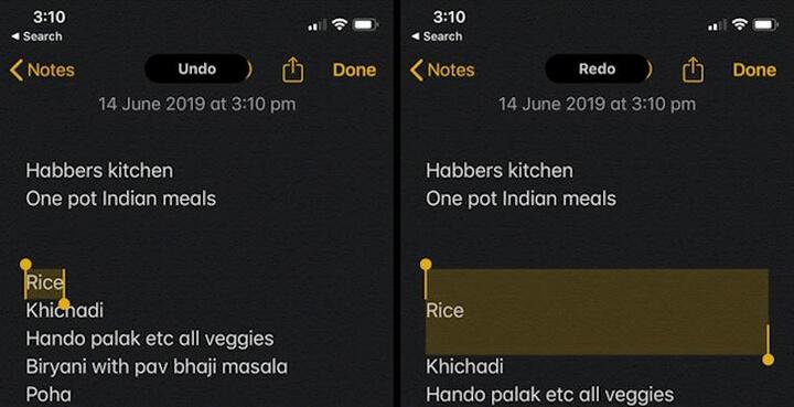 Giờ đây thao tác với văn bản dễ dàng hơn - Ảnh:iPhone Hacks