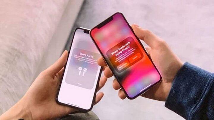 Chia sẻ nhạc từ iPhone lên 2 AirPods khác nhau rất tiện - Ảnh:iPhone Hacks