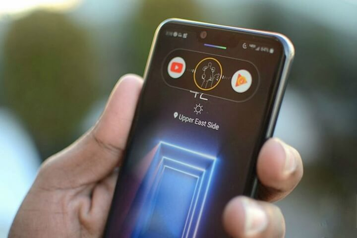Cảm biến ToF tích hợp trong Z Camera của LG G8 ThinQ - Ảnh:TGDĐ