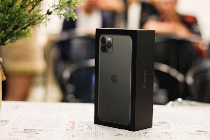 Hộp iPhone 11 Pro Max Midnight Green