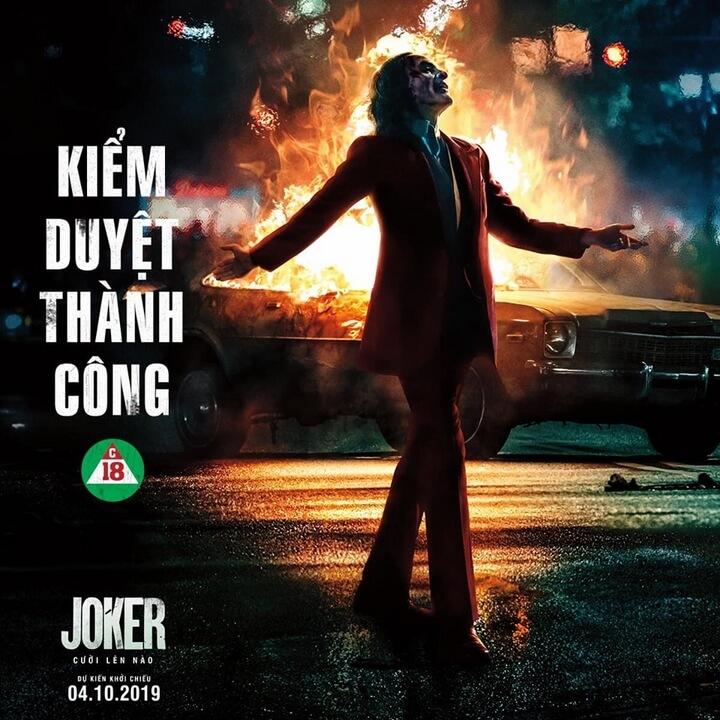 JOKER vượt ải thành công chính thức công chiếu vào đầu tháng 10
