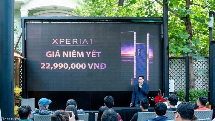 Offline ra mắt Sony Xperia 1 tại TP. HCM