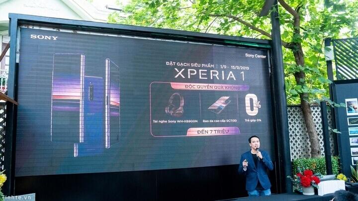 Đại diện chính thức của Sony trao đổi về chính sách một đổi 1 của Xperia 1